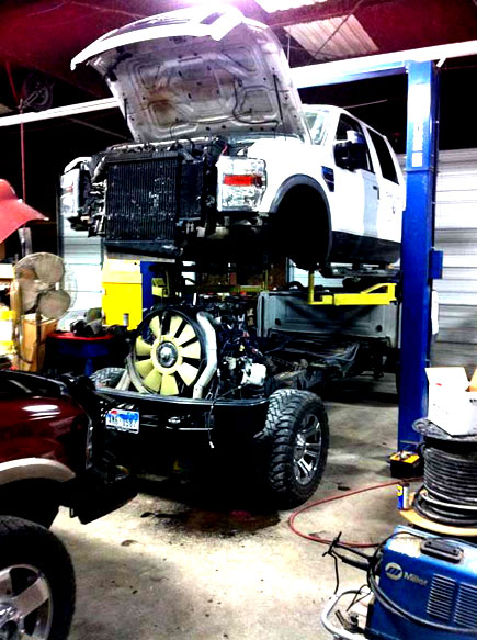 Ford Powerstroke Diesel repair