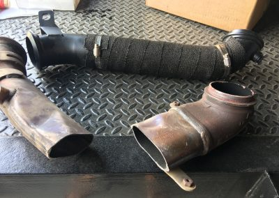 2012 Duramax LML downpipe upgrade