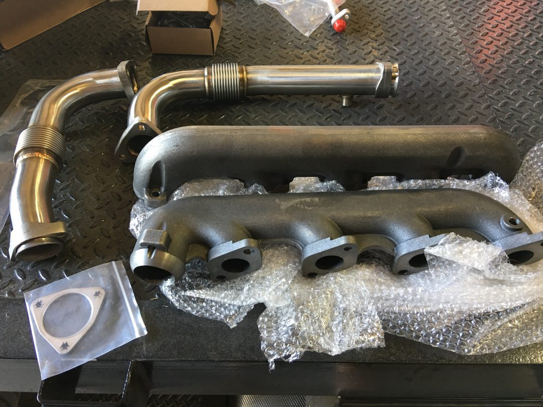 BD exhaust manifolds and up pipes